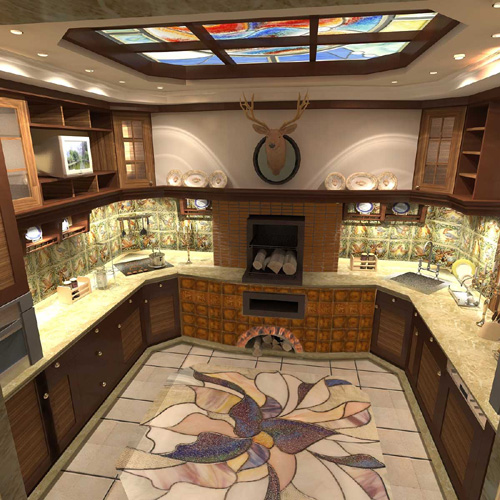 Дизайн интерьера  интерьер дома феншуй дома